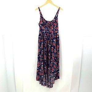 TORRID Medium / Large Hi-Low Smocked Maxi Dress